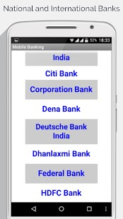 Net Banking App - All Banks of India - náhled