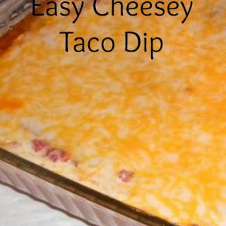 Tasty Tuesday - Easy Taco Dip.