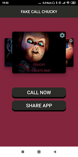 Fake Call From scary doll Prank 1.0 screenshots 2