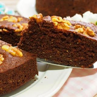 Walnut Cocoa Butter Cake