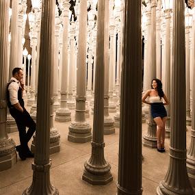 She's So Fine by Yansen Setiawan - Wedding Old - Engagement ( cali, silhouette, losangeles, sweetheart, award, blog, romance, city, love, prewedding, d800, lifestyle, photographer, siluet, lacma, nikon, fine, mindblowing, classic, editorial, creative, vintage, art, romantic, lovebirds, illusion, destination, winning, yansensetiawanphotography, fineart, wedding, la, yansensetiawan, yansen, unseen, engagement )