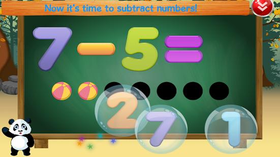 Panda Preschool Math screenshot