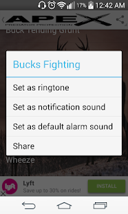 Whitetail Deer Hunting Calls- screenshot thumbnail