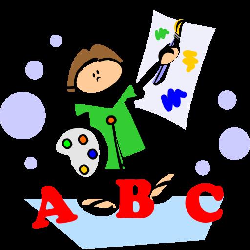 字母著色兒童書籍 教育 App LOGO-硬是要APP