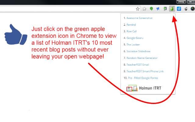 Holman ITRT Recent Updates