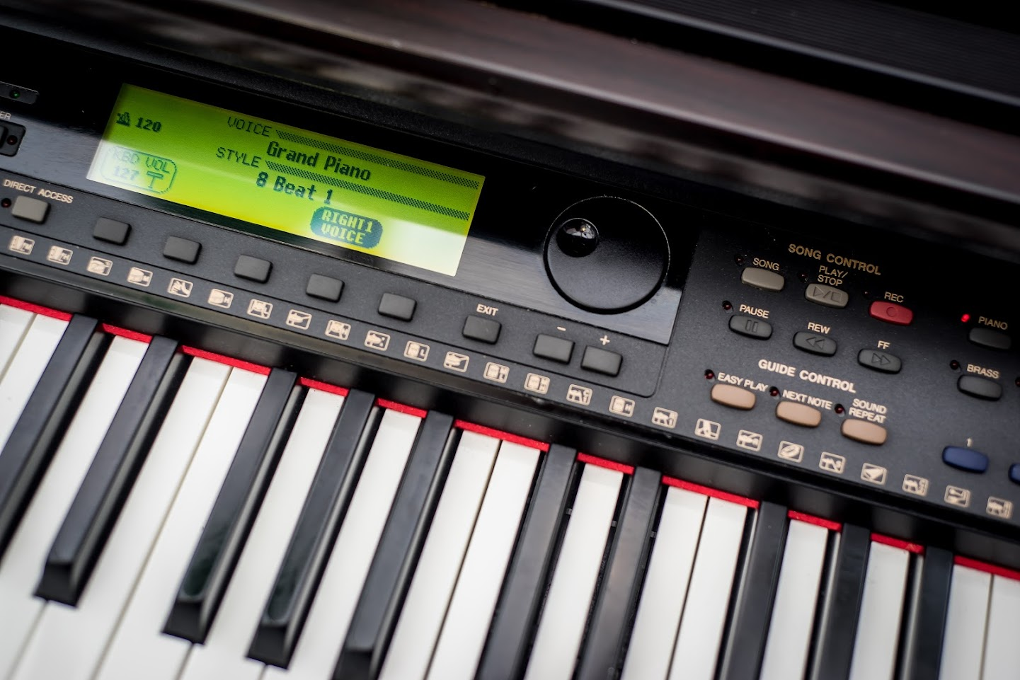 Yamaha clavinova digital full size piano 88 key weighted ghe keyboard delivery ebay for Yamaha fully weighted keyboard