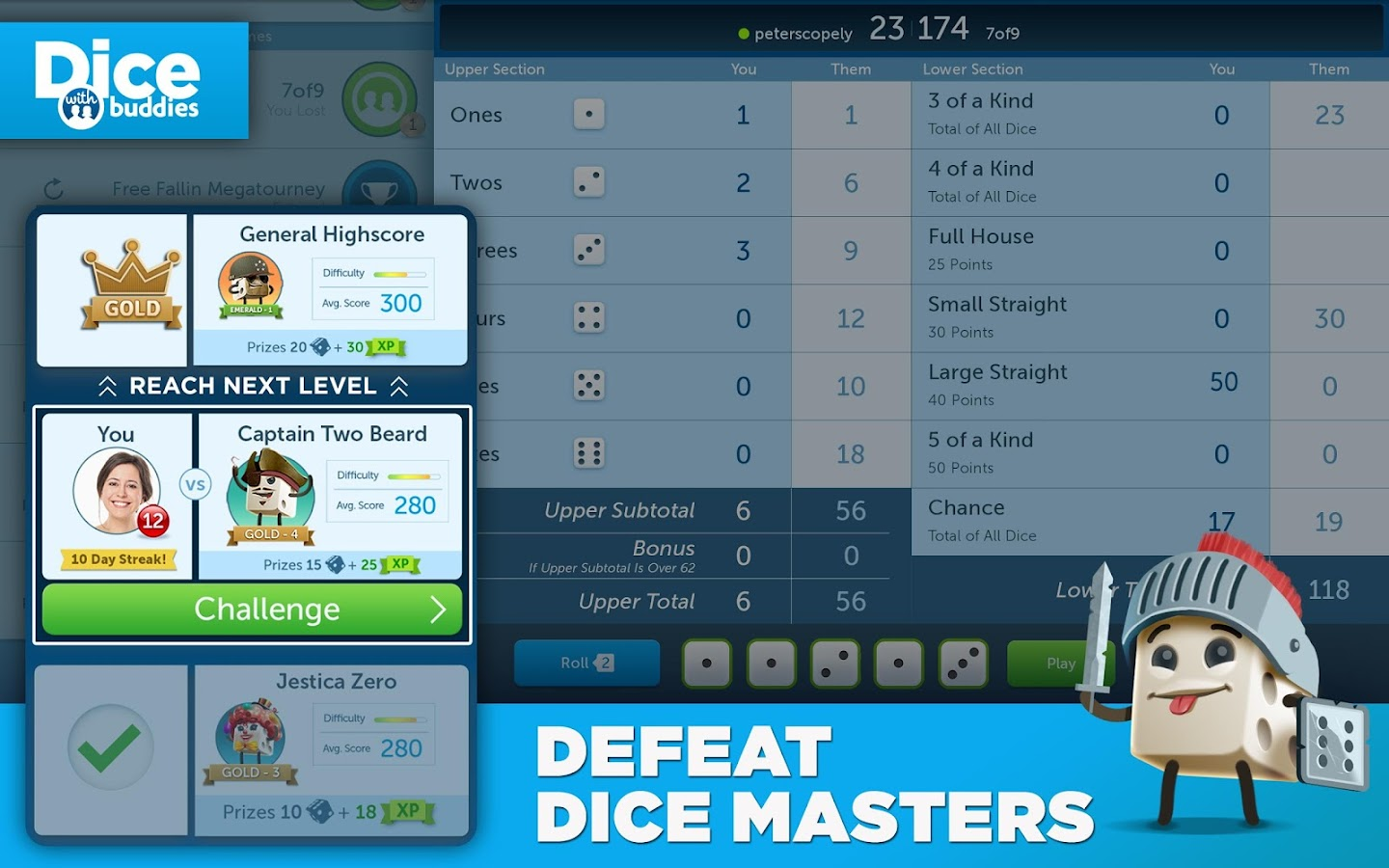 Dice With Buddies™ Free- screenshot