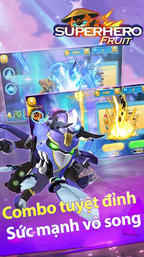 Combo tuyệt đỉnh trong Siêu Nhân Trái Cây Chiến Binh Robot Offline RPG