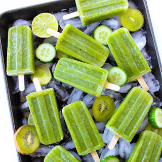 Cucumber Lime Mint Paletas.