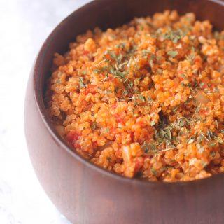 Tomato Mint Quinoa