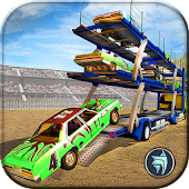 OffRoad Derby Car Transport- Truck Driver