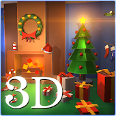 Christmas Room LiveWallpaper3D