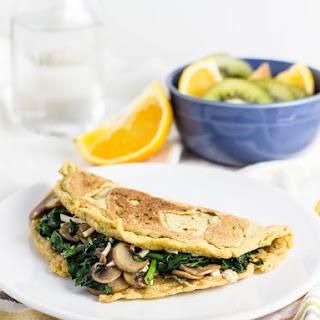 Vegan Chickpea Flour Omelette