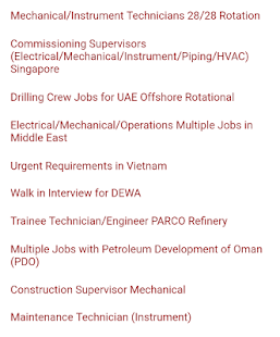 Oil and Gas Jobs - náhled