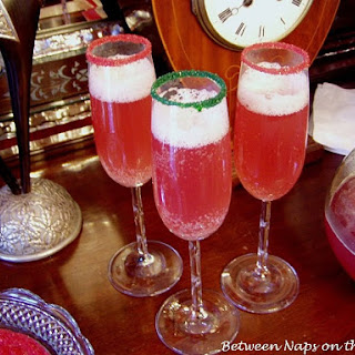 Champagne Punch for Christmas or New Year's
