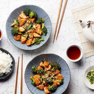 Quick Sesame Chicken With Broccoli