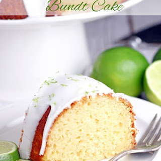 Key Lime Bundt Cake.