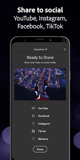 Adobe Premiere Rush u2014 Video Editor 1.5.20.571 screenshots 5