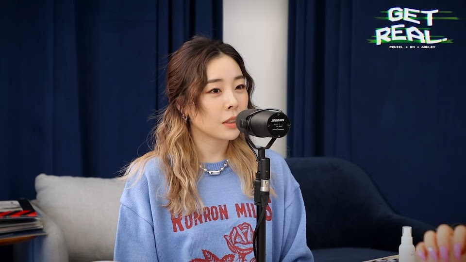 1 get real podcast famous fame kpop idol cons downsides ladies code ashley choi kard bm alexa