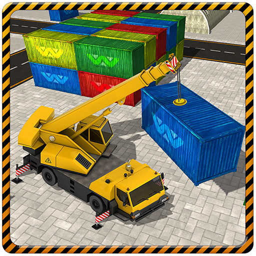 Cargo Crane Labor Truck Sim 17