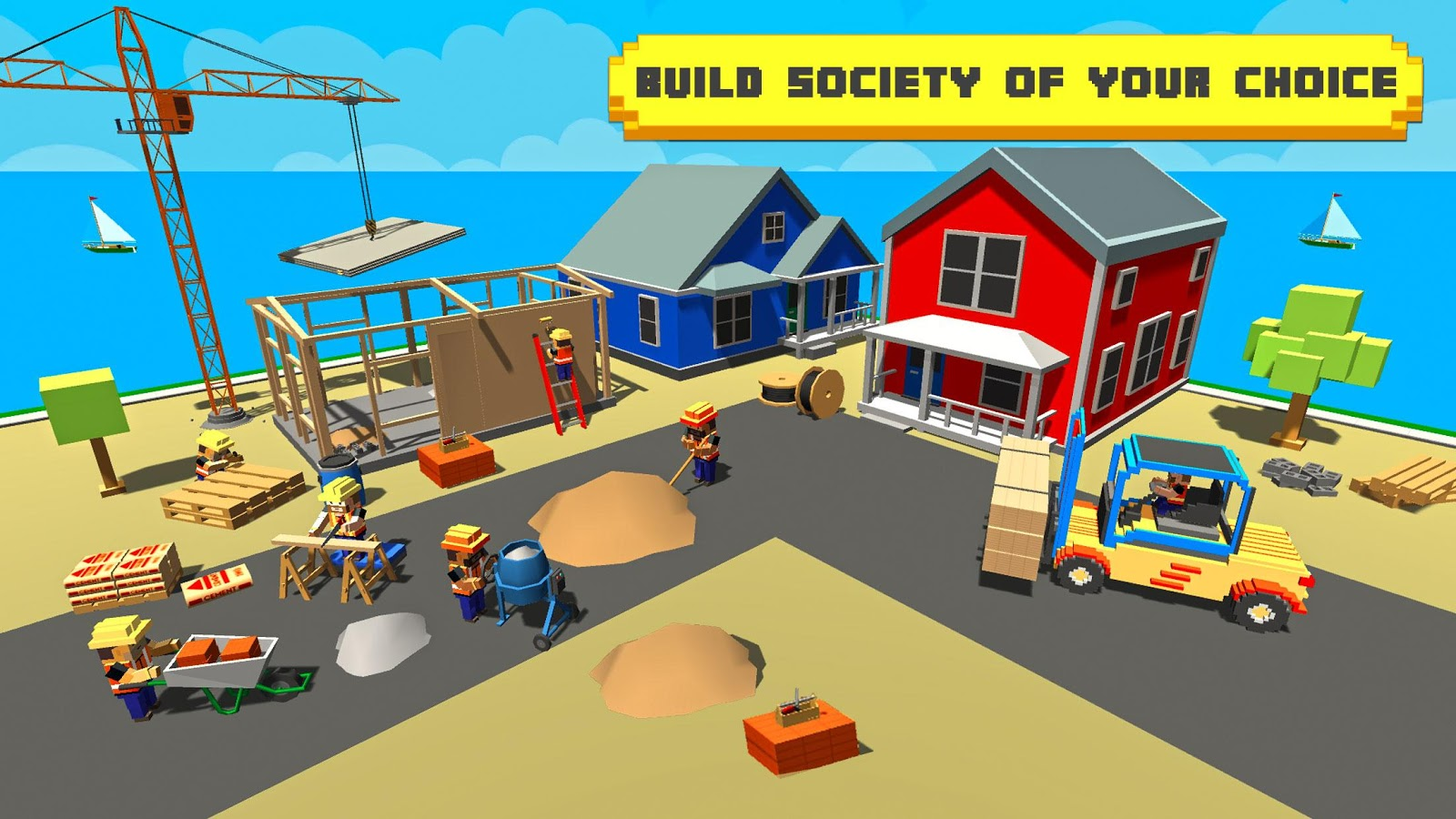 Housing Society Construct Town- screenshot
