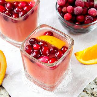 Orange Cranberry Margarita Cocktail.