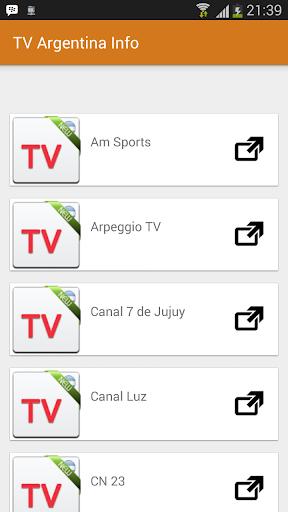 New TV Argentina Online