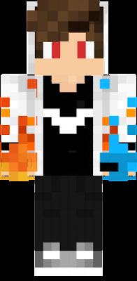 Agua Fuego Nova Skin - Skin para minecraft pe fuego