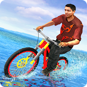 Waterpark Bicycle Surfing - BMX Cycling 2019