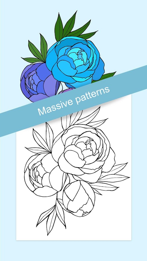 Flowers Coloring Books Screenshot