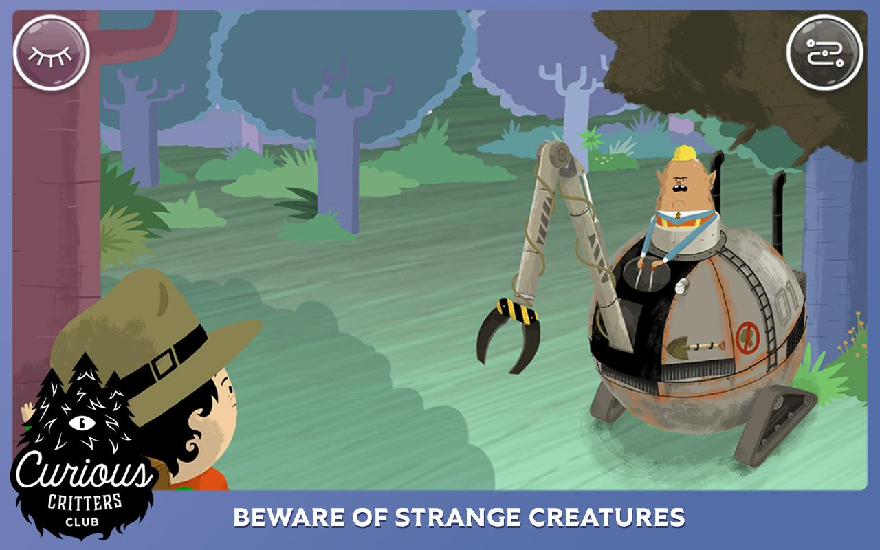 Curious Critters Club: Call of the Giant Eagle- screenshot