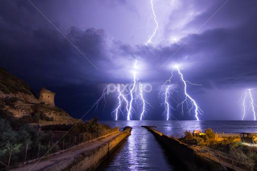 Light Storm By Alessandro Maniccia