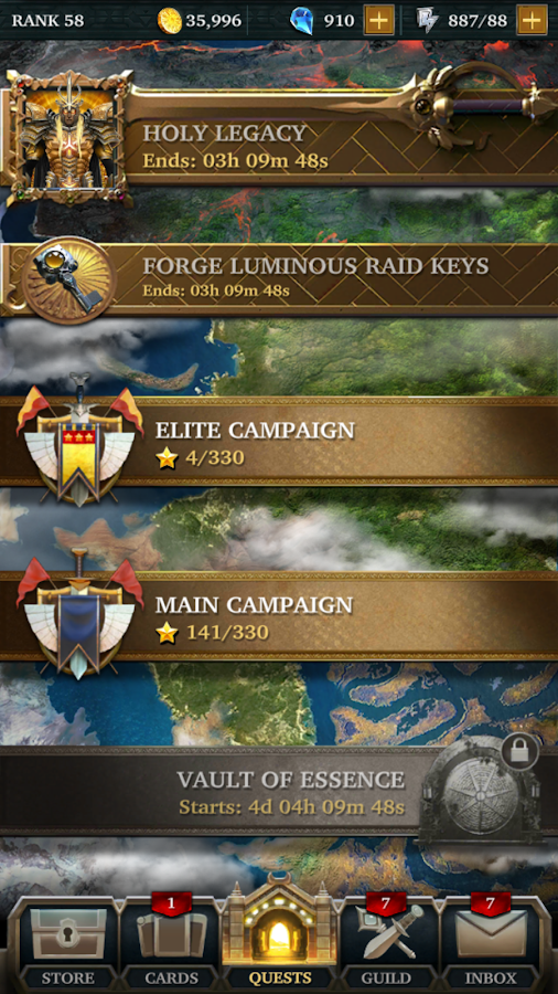 Legendary: Game of Heroes- screenshot