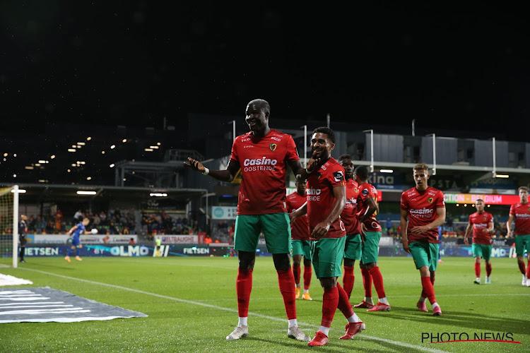 Inspiratieloos KAA Gent verliest op het veld van KV Oostende en blijft achter met 1 op 9
