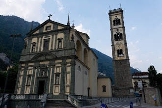 Photo: Kościół św. Józefa z XVII w. Dzwonnica o wysokości 65 metrów.