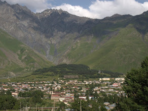 Photo: Kazbegi - obecnie Stepancminda