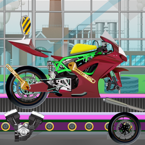 Sports Motorbike Builder Factory – Bike Maker Sim