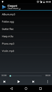 Clean Music Player App Download For Android 1