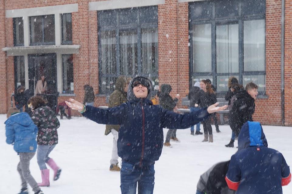 De eerste sneeuw !
