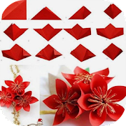 Origami flower tutorial apps on google play origami flower tutorial mightylinksfo
