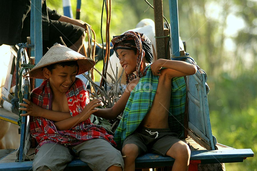 joking with my brother by Budi Cc-line - Babies & Children Children Candids ( indonesia )