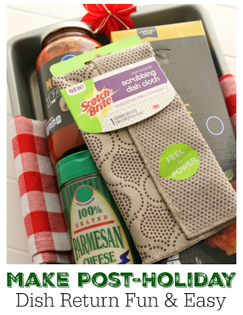 Make post-holiday dish return a special treat with a fun food gift
