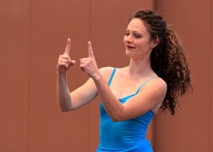 Photo: Choreography: Jennie Wood Dancer: Jennie Wood Photo By: Brian Passey