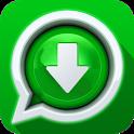 Whatstatus Downloader: Free status saver icon