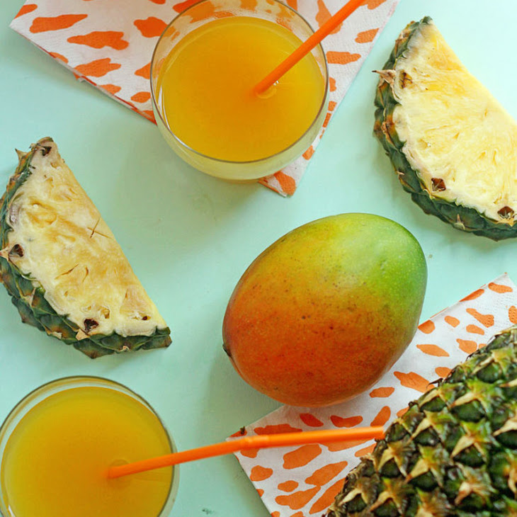 Tropical Pineapple Punch Recipe