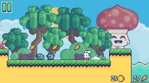 Yeah Bunny 2 - pixel retro arcade platformer  captures d'écran 2