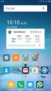 XEMWatch 1.3 - náhled