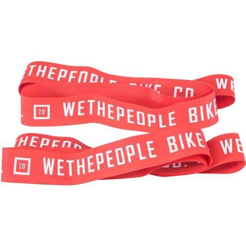 "We The People Nylon 20"" Rim Tape Set, Red"