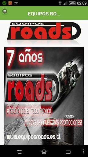 Roads Equipos