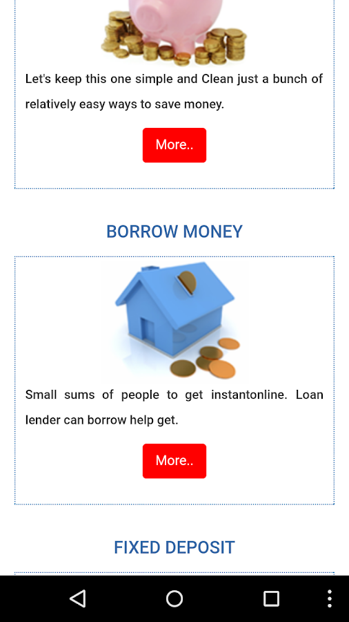 Nidhi Banking Customer APP- screenshot